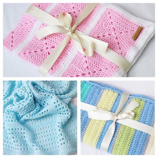 Looking for a special baby gift? All these pretty blankets are now available to buy  http://www. kimbelladesign.etsy.com  &nbsp;   #HandmadeHour #babyshower <br>http://pic.twitter.com/Ay0NPXvZio