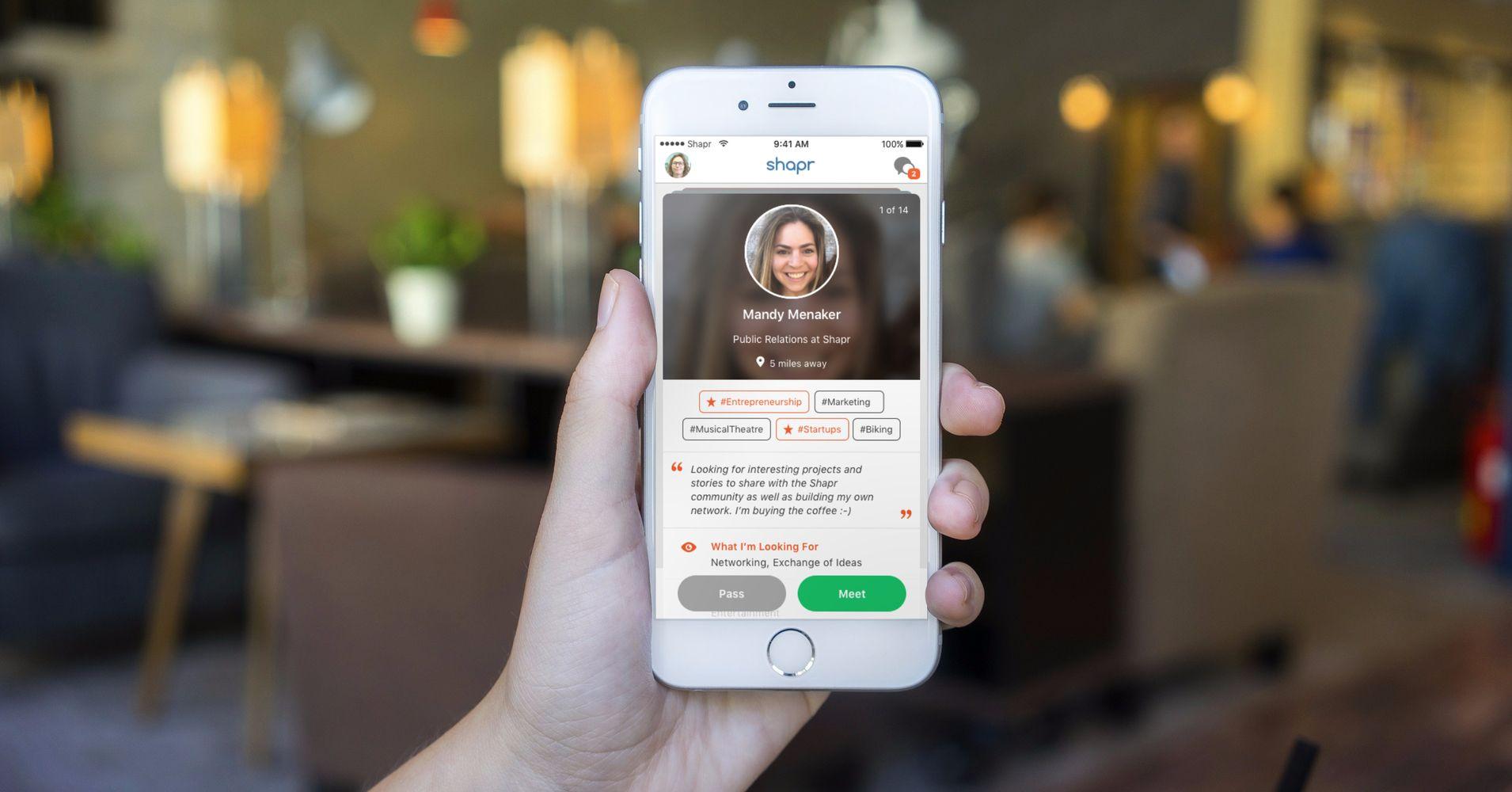 Thumbnail for Professional Networking App Shapr Raises a $9.5 Million Series A