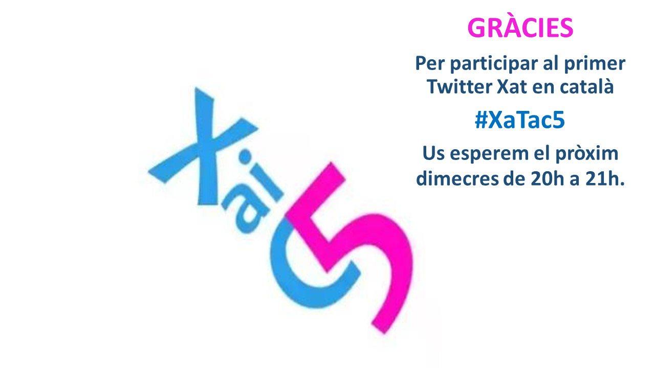 Thumbnail for Avui al #XaTac5 els espais d'aprenentatges: on podem aprendre i col·laborar?