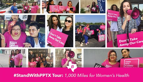 .@PPTXVotes is hitting the road! Learn about their epic 1000-mile tour highlighting patient stories in Texas: https://t.co/57w5gn4Qxq