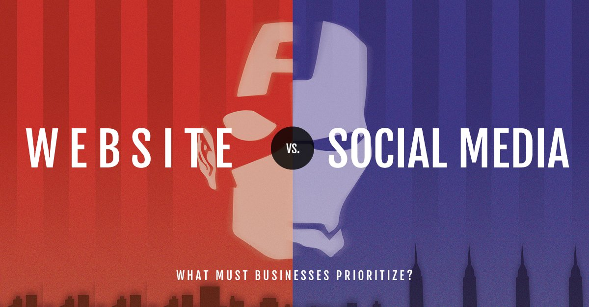 #Website (SEO) vs #SocialMedia for #LocalSEO →  &quot;30% of consumers won't consider a business without a website.&quot;  (4/5) #SEO <br>http://pic.twitter.com/lU3hOCCzIh
