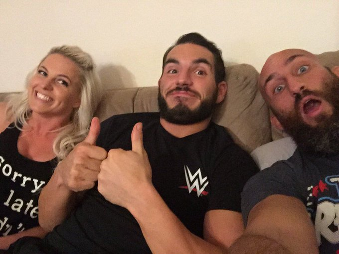 Tommaso Ciampa moved out of the #DIY clubhouse