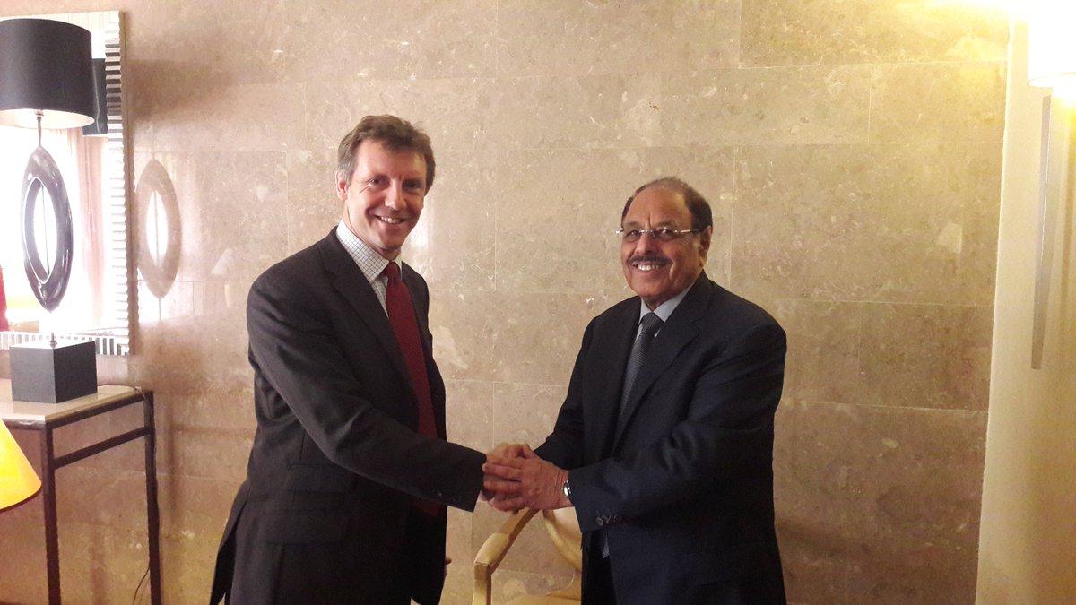The day after #Manchester Arena, UK ambassador meets #Yemen's Baba Al Qaeda, General Ali Muhsin Al Ahmar @alimohsnalahmar.