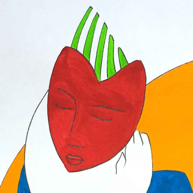 Sensory Figure   Ink &amp; gouache paint on archival paper   #art #artist #artwork #drawing #contemporaryart<br>http://pic.twitter.com/gSBRSkd1VJ