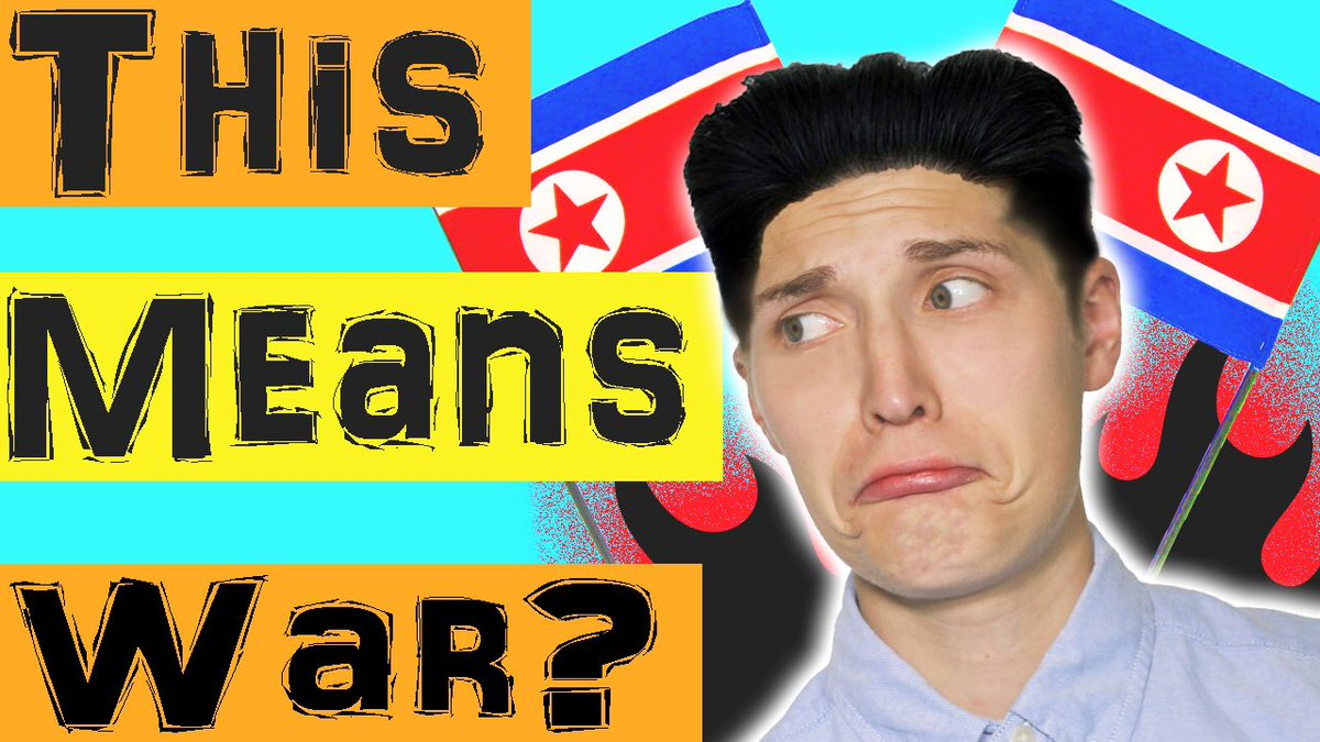 TODAY! NORTH KOREA DECLARED WAR ON TRUMPS HAIR!  https:// youtu.be/RRWAqM9XZjo  &nbsp;   #youtube #youtuber #comedygold #parody #TrumpNotWelcome #hair #video<br>http://pic.twitter.com/PQs3B0jHHH