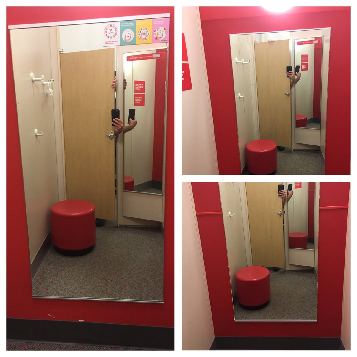 Some before and after pictures of the #revamping of our fitting rooms! #T2320ModelStore #PropertyManagement #OneTeam<br>http://pic.twitter.com/KFQOnhwGrH