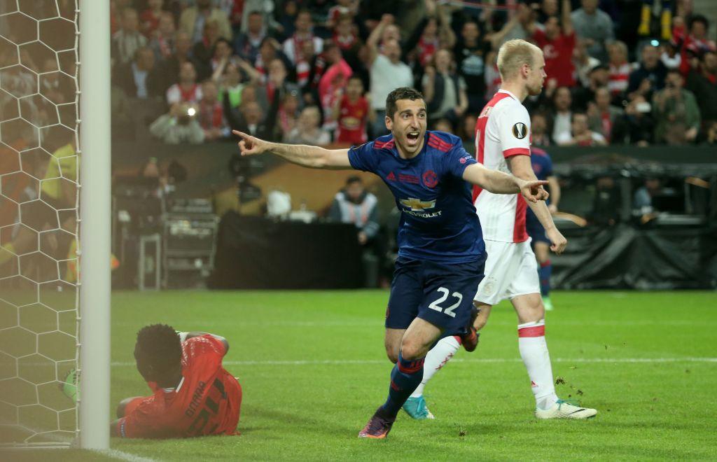 هدف مانشستر يونايتد الثاني في مرمى أياكس