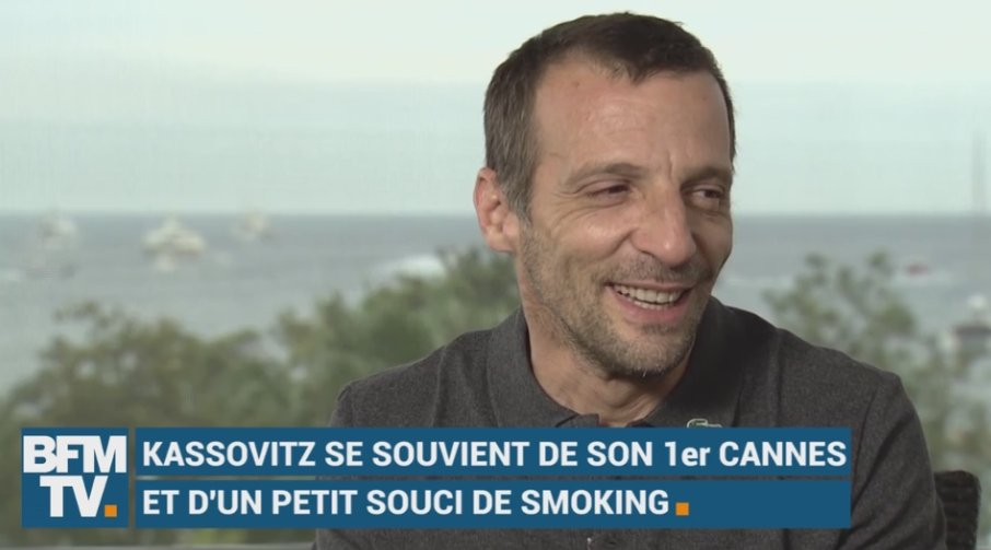 VIDEO - Mathieu Kassovitz se souvient de son 1er Cannes et d'un petit souci de smoking https://t.co/X6YlvRXnL0