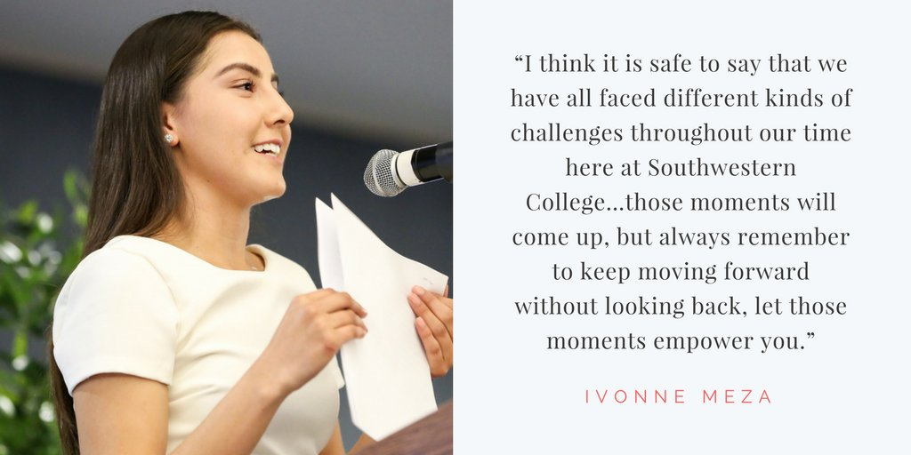 Read Ivonne Meza's full speech she delivered at the EOPS end-of-the-year ceremony. #SWC2017 👩‍🎓👩‍🎓👩‍🎓 https://t.co/bt8O1FS6N5 https://t.co/VRsQ7DU3L0