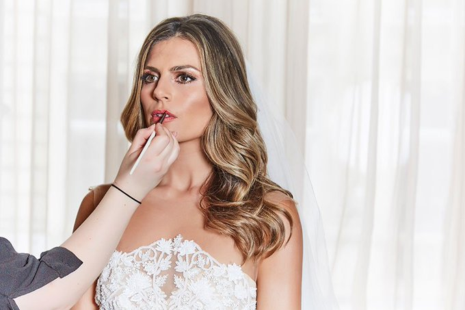 Get Zoe Hardman's wedding look with exclusive step by step guide