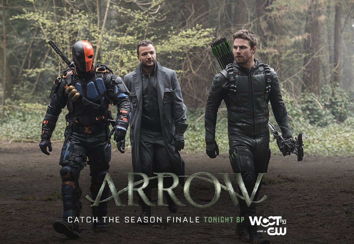 It's a race against time to save Oliver's family on the SEASON FINALE of @CW_Arrow TONIGHT at 8p on @WCCTtv! https://t.co/pik0mRODA6