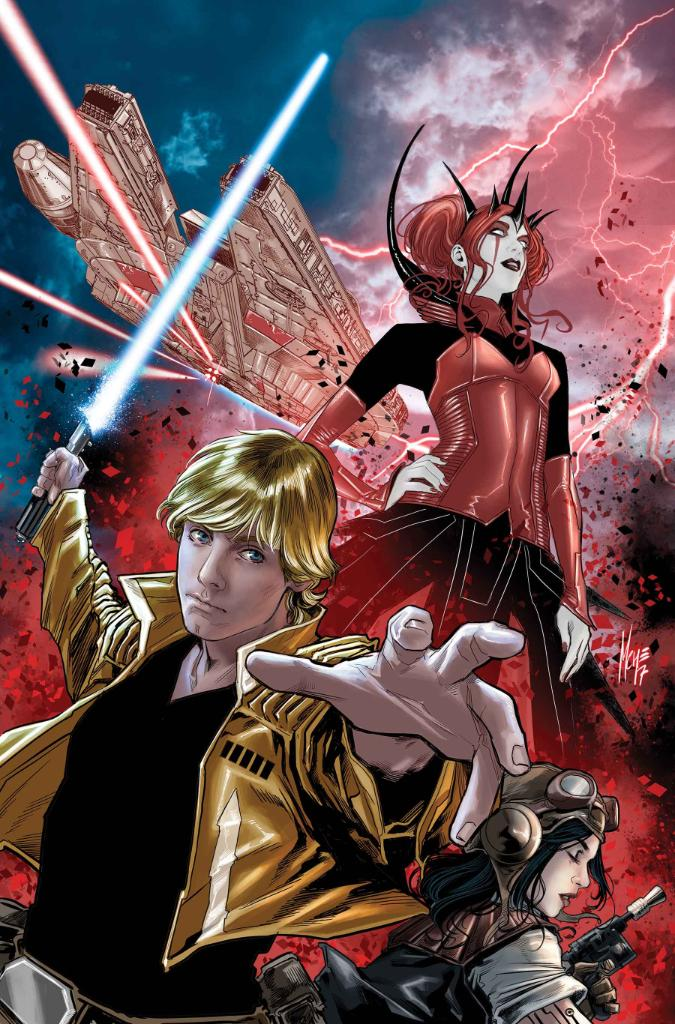 """It's a scream of a time as """"Doctor Aphra"""" writer @kierongillen talks #StarWars crossover """"The Screaming Citadel&quot;:  http:// bit.ly/2qcOreO  &nbsp;  <br>http://pic.twitter.com/JaLQSDxsjY"""
