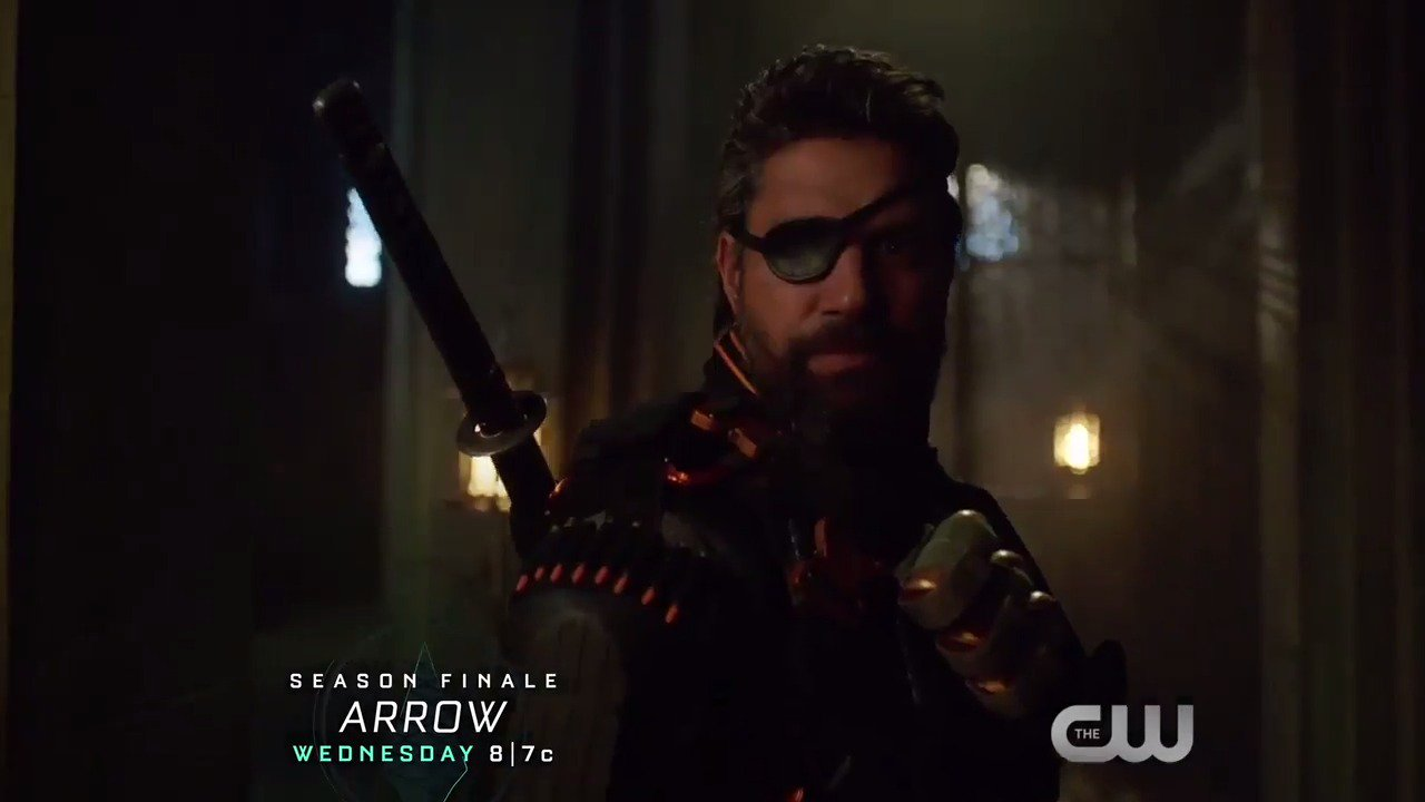 Oliver prepares for one final battle on the season finale of #Arrow, TONIGHT at 8/7c on The CW. https://t.co/pZZifmpeAL