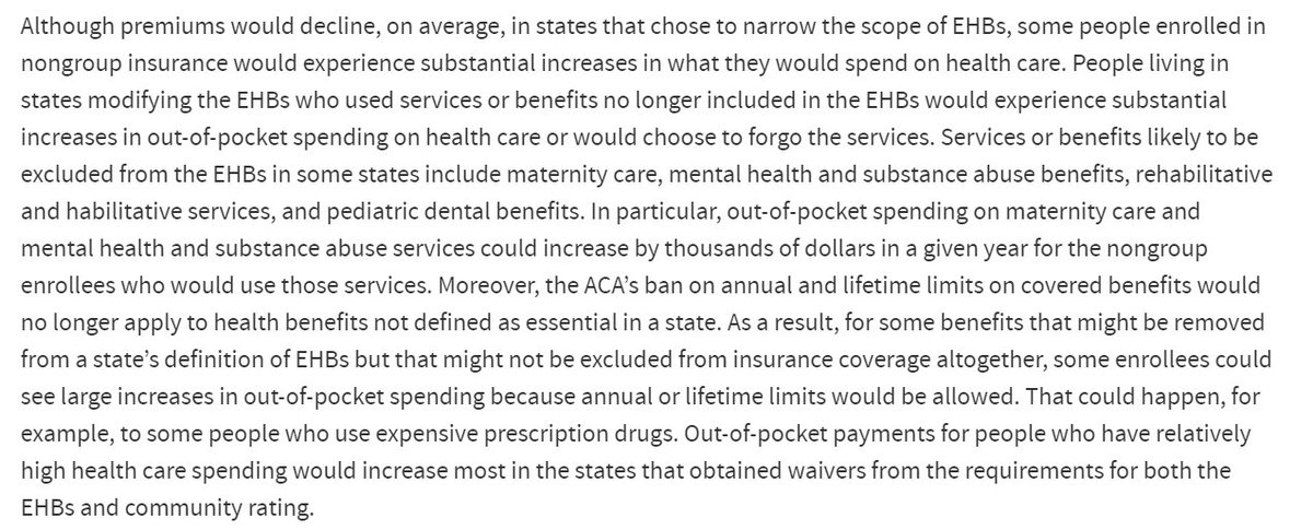 CBO says some people would experience 'substantial' increases in what they spend on health care under AHCA https://t.co/aUSpKpSeyS