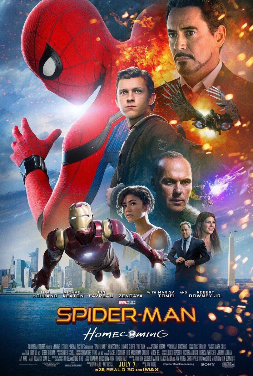 This #SpiderManHomecoming poster has really killed our afternoon productivity. Highlights from our team Slack... https://t.co/fYSj1KK0mW