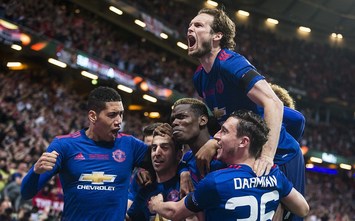 Manchester United Campione d'Europa League con Pogba: 2-0 all'Ajax, giocherà la Champions