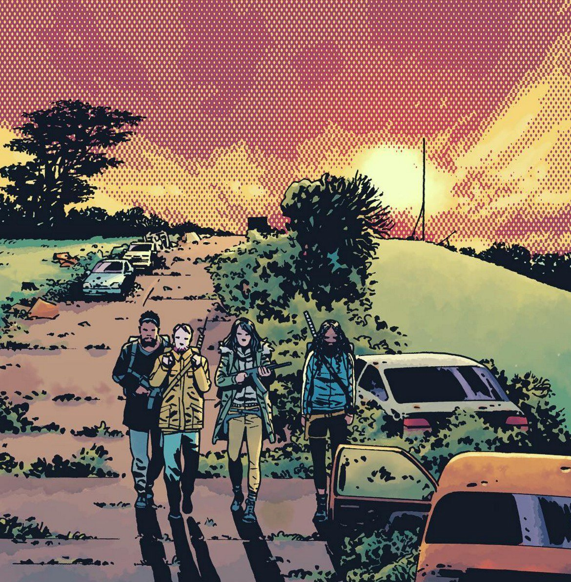 Get the entire cover and details for #TheWalkingDead Issue #170:  http:// bit.ly/170Cover  &nbsp;  <br>http://pic.twitter.com/4m82xeTzWn
