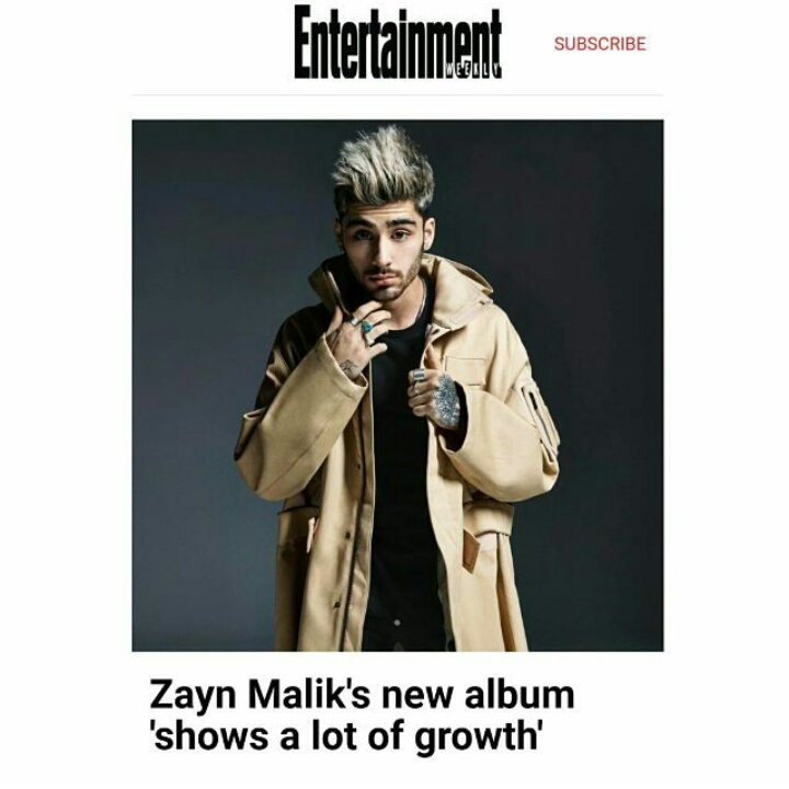 #Article | RCA records CEO Peter Edge:  &quot;Zayn just wants to make and do what he does. The album s more optimistic tone to it..... .&quot; #ZAYN <br>http://pic.twitter.com/103XILFRnZ