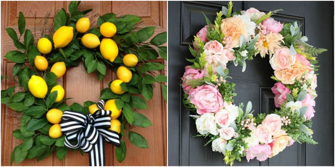 20 Summer Wreaths You Need to Make Now
