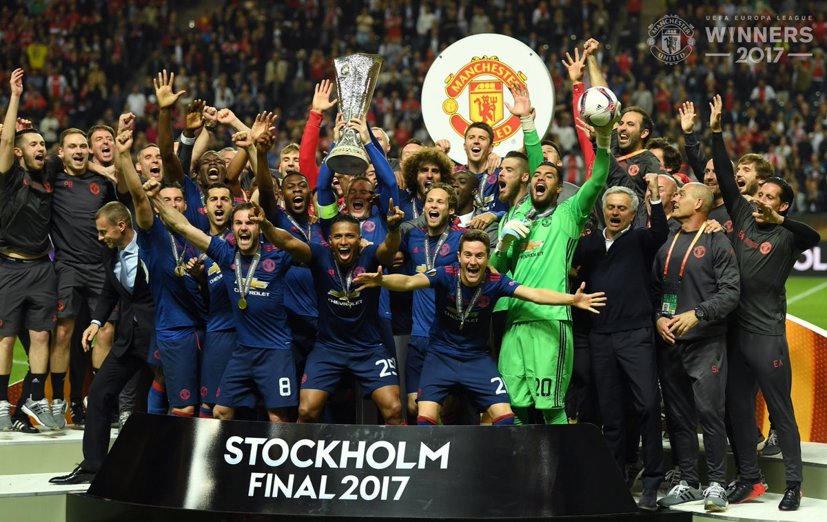 Image result for manchester united juara europa league