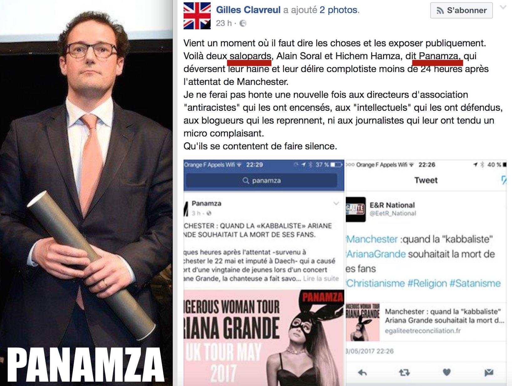 «Salopard» : l'appel à la haine du préfet Clavreul contre Panamza