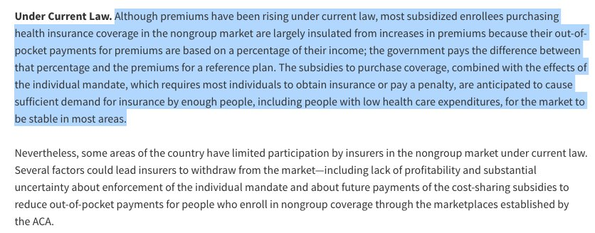Once again, the CBO debunks the idea that Obamacare is in a death spiral (although some markets do have problems)
