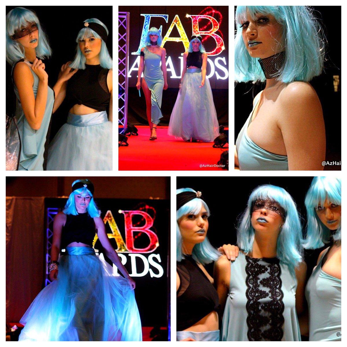 My &quot;Blueberry Babes&quot;...thx 4 lighting up the #LR runway! Photos: @AzHairDoctor Wigs: @KosmoKrisJ MUA: @makeupbyyolanda Model: @JordanP059<br>http://pic.twitter.com/i400M0BwJg