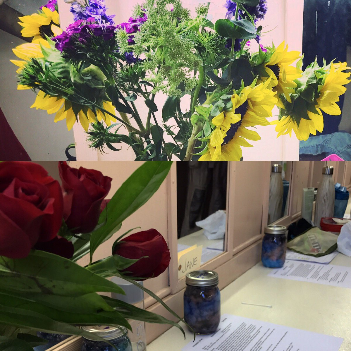 Our #dressingrooms pretty with cherished support! #womenof4G @DriveTheatre @FierceBackboner #scifi #theater  http://www. brownpapertickets.com/event/2919599  &nbsp;   <br>http://pic.twitter.com/MRL4YxPi7Y &ndash; à Zephyr Theatre