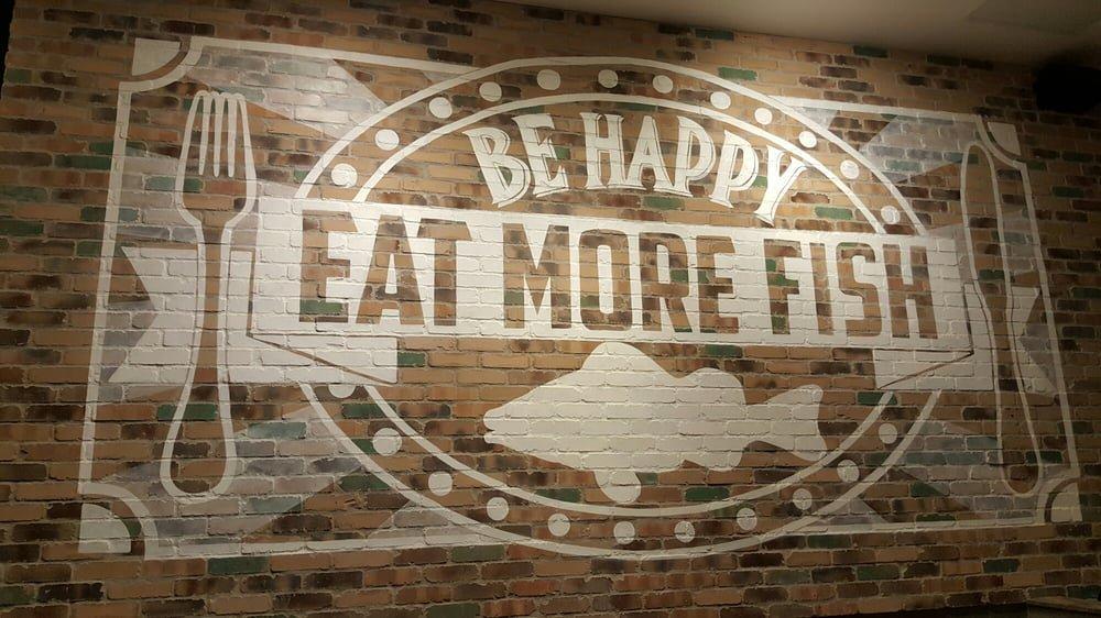 &quot;Be Happy, Eat More Fish!&quot; #CaliforniaFishGrill #WednesdayWisdom  #Love #California #EEEEEATS #OC #LA <br>http://pic.twitter.com/S0FWjHSxlB
