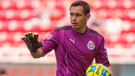Rodolfo Cota, portero de Chivas, a la Selección