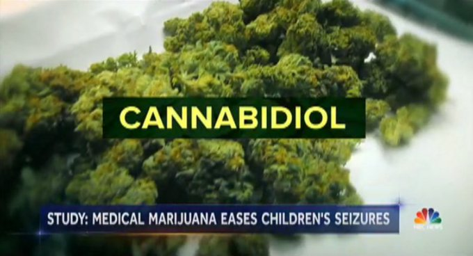Study finds nearly 40% drop in seizures for children who used this marijuana derivative.  @kristendahlgren reports now on @NBCNightlyNews.