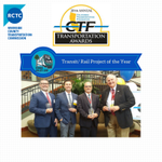 Thank you @CTFCharity for recognizing the #PerrisValleyLine as the Transit/Rail Project of the Year! #CTFAwards