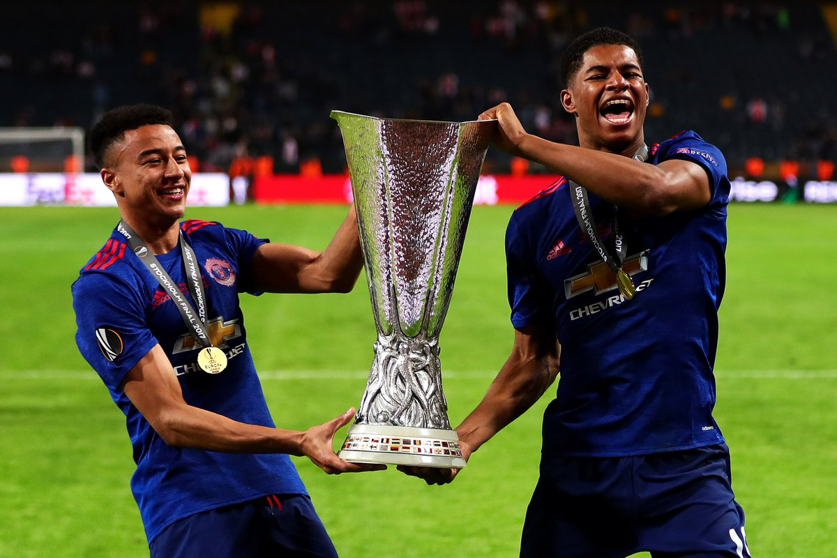 Man United Complete The Set UEFA Champions League Europa