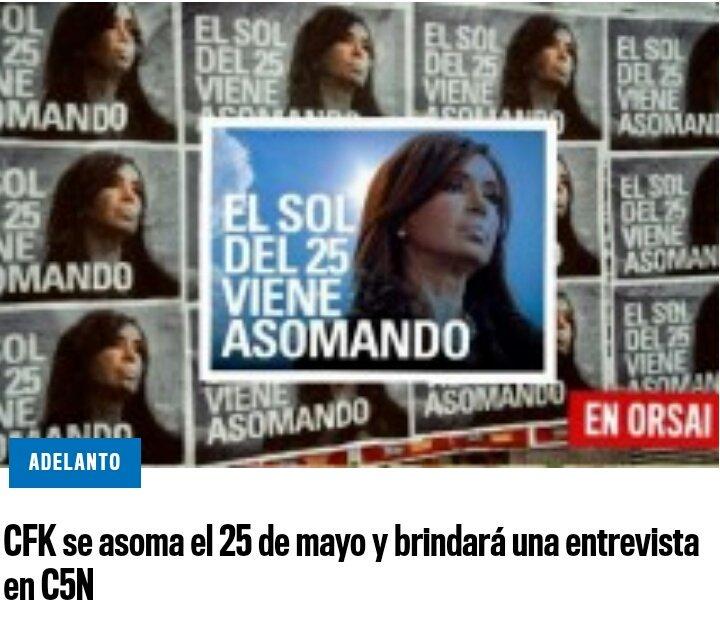 VIVA LA PATRIA PRESIDENTA @CFKArgentina