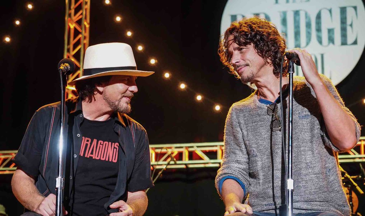 "Eddie Vedder Gallery: Alternative Nation On Twitter: ""Chris Cornell's Mother-In"