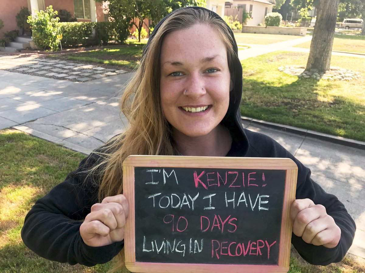 WOW! Congrats Kenzie on 90 days in #recovery from #addiction. Keep it up! #Recovery is real and it works.  #VoicesProject<br>http://pic.twitter.com/d4JYMYmjFv