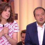 これはすごいフランスの有名な女優さんがHey! Say! JUMPのTシャツ着てる