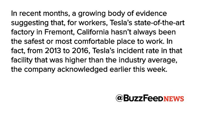 Tesla replaces head of HR amid allegations of poor working conditions, harassment https://t.co/iRIOwZNND0