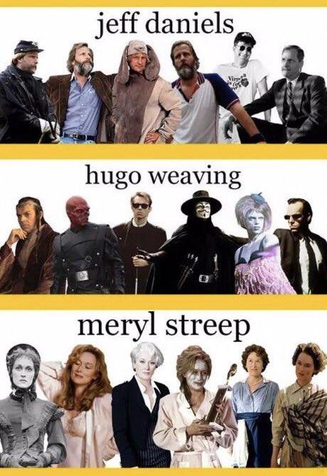流石プロwwwハリウッド俳優の七変化がすごすぎるwww