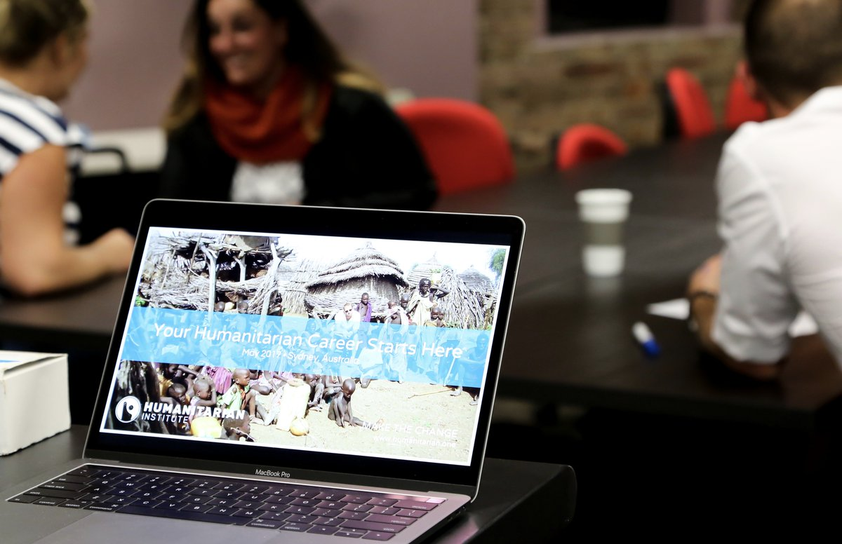 #Sydney #humanitarian training kicks-off this weekend. #Globaldev #education #socent  http://www. humanitarian.one  &nbsp;  <br>http://pic.twitter.com/eWuX7mwoso