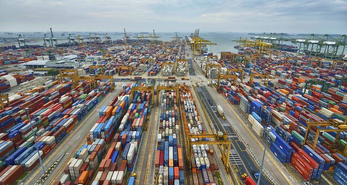 Singapore exports surge 15.2% in Q1, forecast for year up https://t.co/oGGFO99VvF