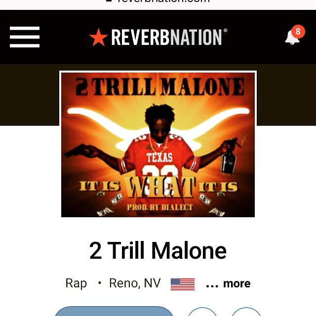 2 Trill Malone It Is WHAT It Is #mixtape #NEW #NewArtist #NewStyle #NewMusic #2tm #2Trill #Malone @ReverbNation  http://www. reverbnation.com/open_graph/art ist/5765978 &nbsp; … <br>http://pic.twitter.com/9RJuqM8Ti9