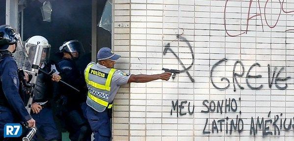 Polícia usou arma de fogo contra manifestantes em Brasília https://t.co/RVk1UbOaMK #Notícias
