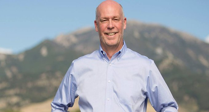 LISTEN: Reporter decked by Montana candidate Greg Gianforte was just hauled off in an ambulance https://t.co/78sYb92mV0