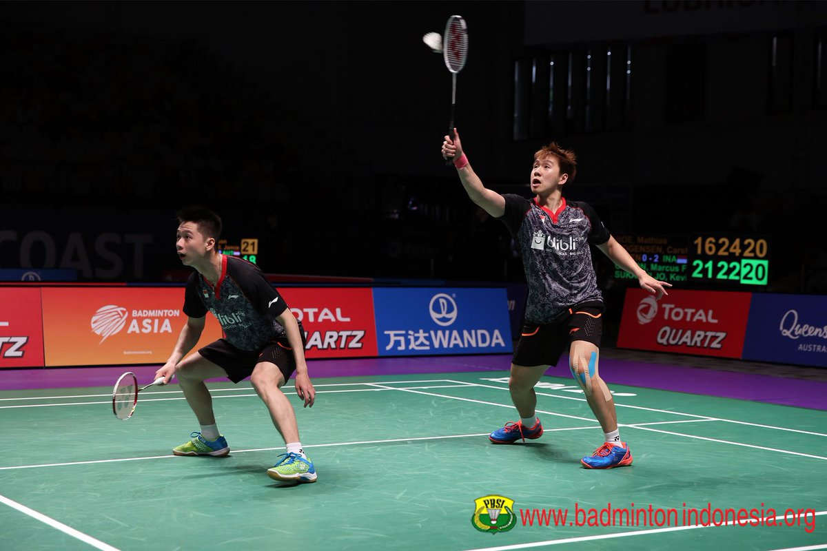 "BADMINTON INDONESIA على تويتر ""Marcus Fernaldi Gideon Kevin"