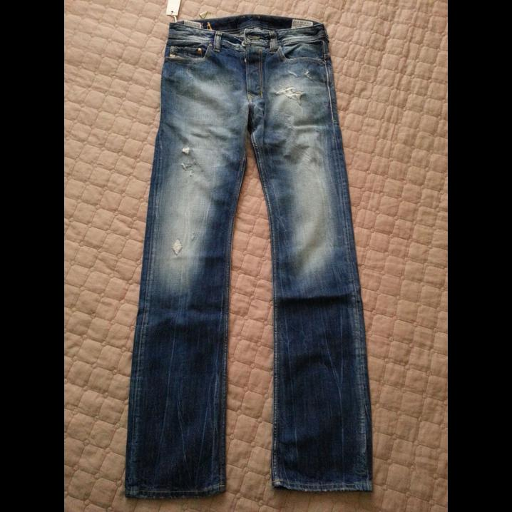 [ http:// ebay.to/2qGA7KR  &nbsp;  ] #DIESEL Jeans men size 28 x 32 SAFADO Regular Slim #ebay<br>http://pic.twitter.com/KCp78dbTkz