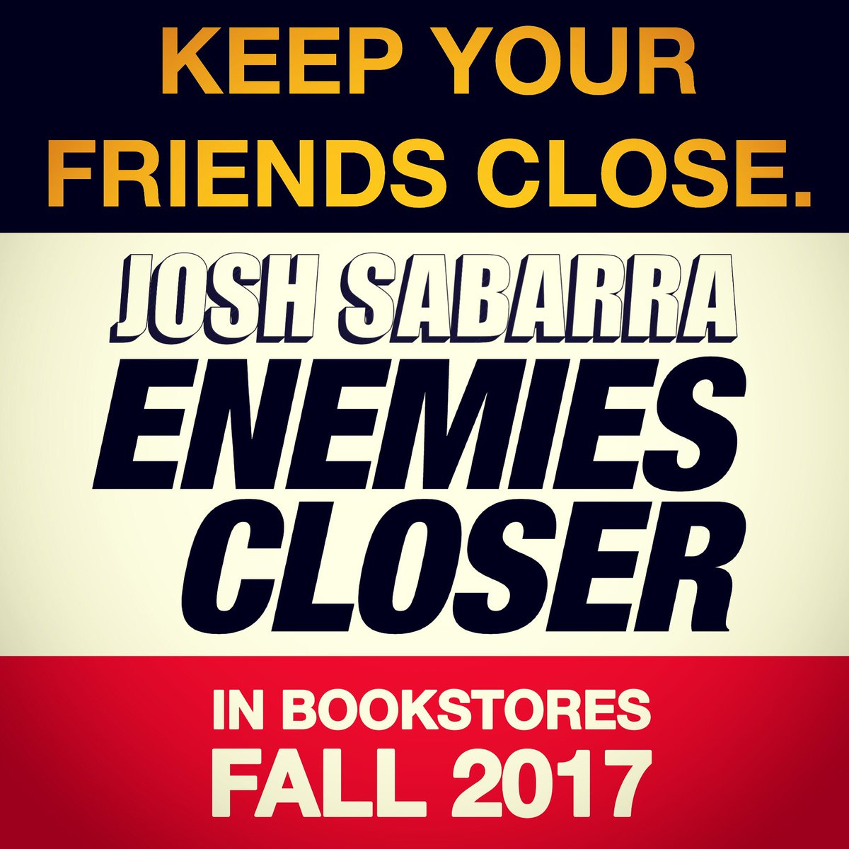 This fall, keep your friends close. #EnemiesCloser #books #reading #author #novel #bookclub #bookstore #goodreads #Hollywood #entertainment<br>http://pic.twitter.com/qQmnQFd0l6