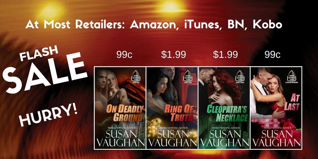 Go to  http://www. susanvaughan.com  &nbsp;   #sale #bargain #series #cheapread #readers #IARTG #alert #RomanticSuspense #romancereaders #bookworm<br>http://pic.twitter.com/m88S6P2QjT