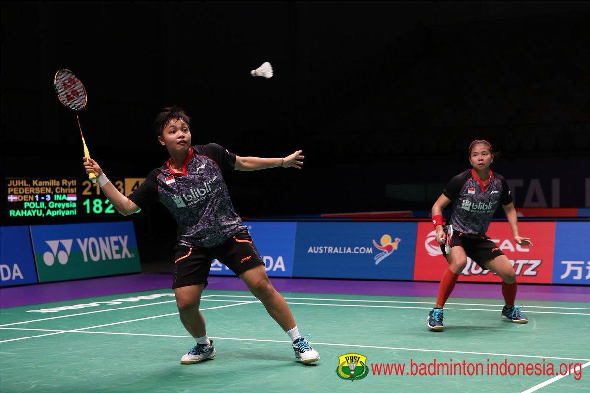 "BADMINTON INDONESIA on Twitter ""Greysia Polii Apriani Rahayu"
