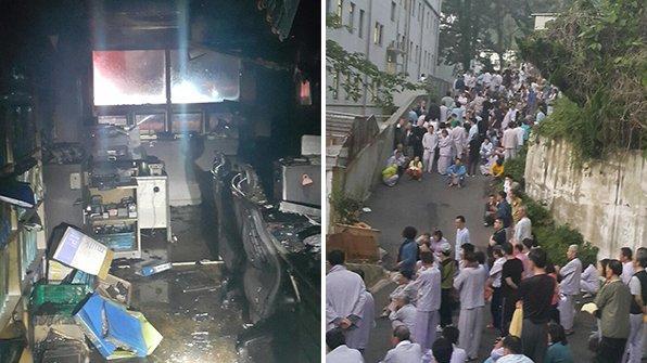 #부산 사상구의 한 #병원 에서 불이 나 환자와 직원 500여 명이 긴급대피하는 소동이 벌어졌습니다. https://t.co/Px3AVddgBS